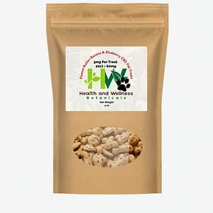 cbd pet treats peanut butter banana blueberry 3mg