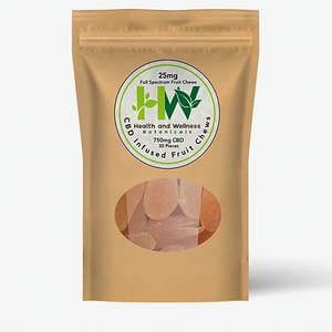cbd fruit chews 25mg 30 count