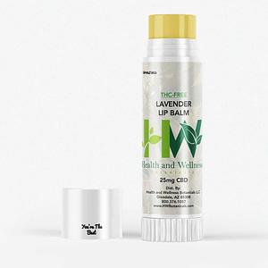 CBD infused 25mg Lip Balm Lavender Scent
