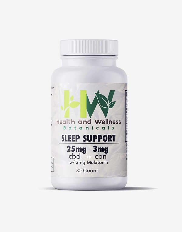 Sleep Support CBD CBN Gel Capsule