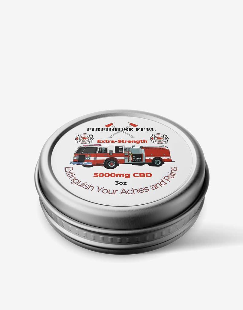 3oz 5000mg CBD Balm - Firehouse Fuel