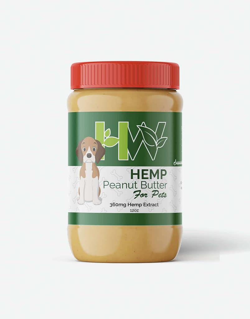 CBD Pet Peanut Butter