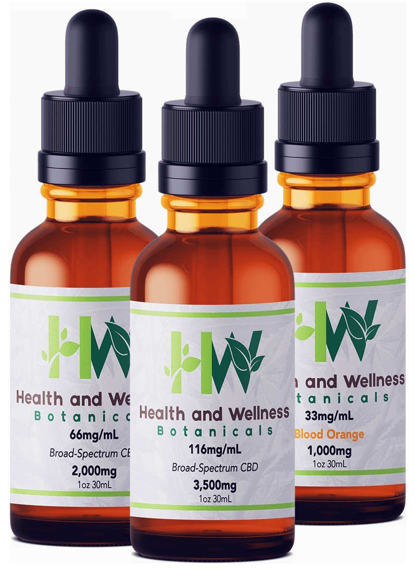 Water-Soluble CBD Tinctures